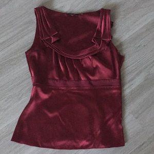6b6b59243b07f3 Elie Tahari Tops - Elie Tahari regal royal red Silk Tank